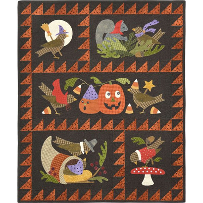 Berties Autumn, by Bonnie Sullivan - Patroon