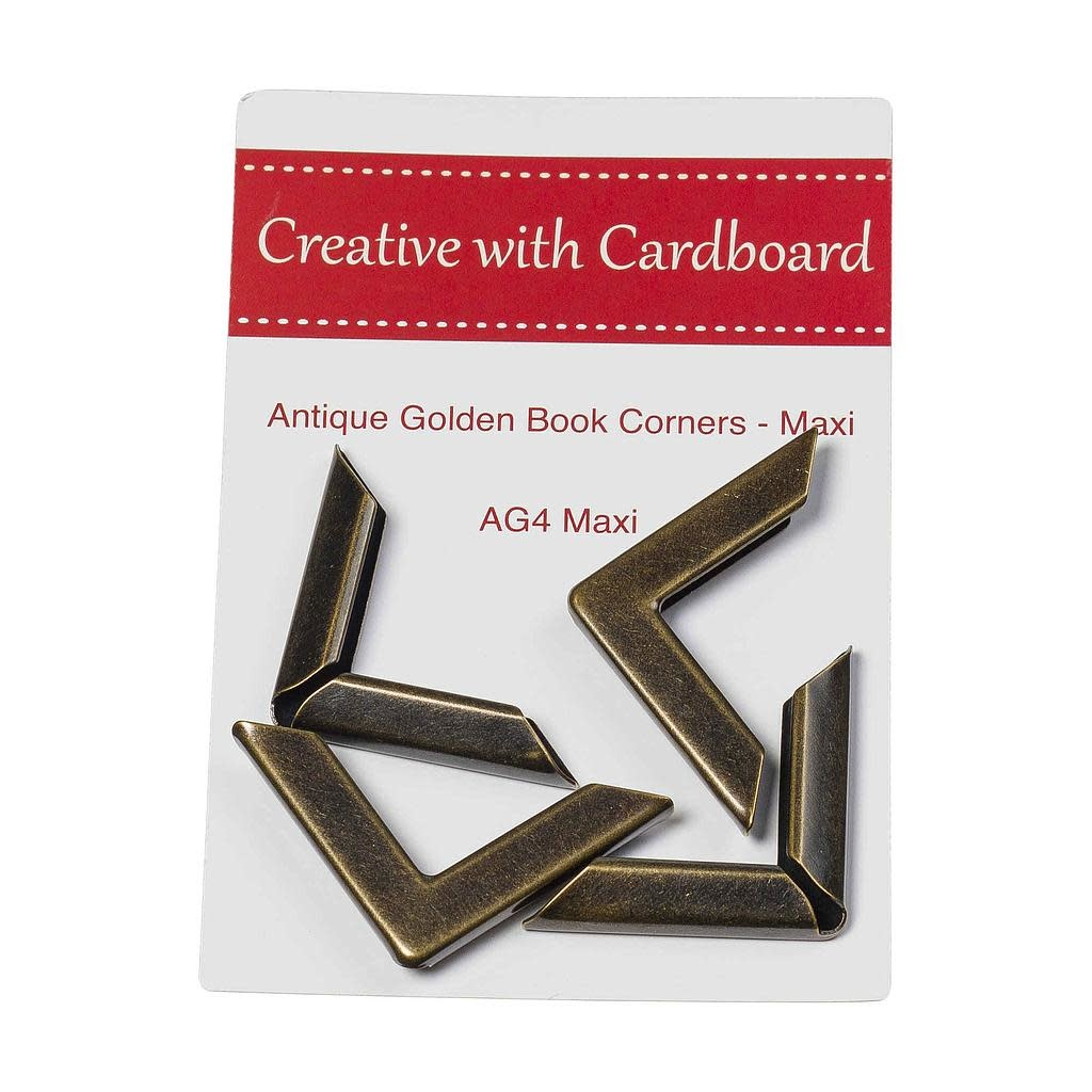Antique Golden book Corners - AG4 Maxi