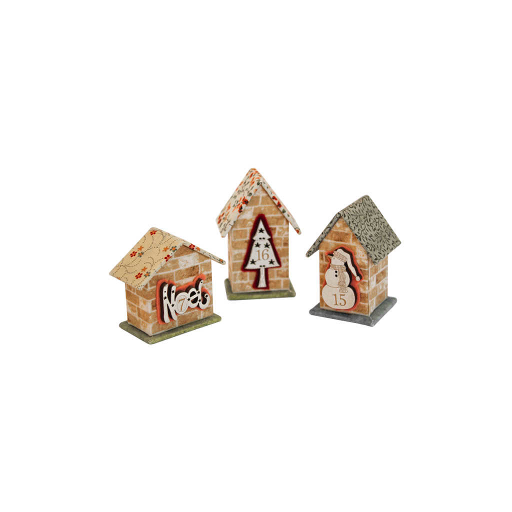 RinskeStevens 3 Mini Huisjes
