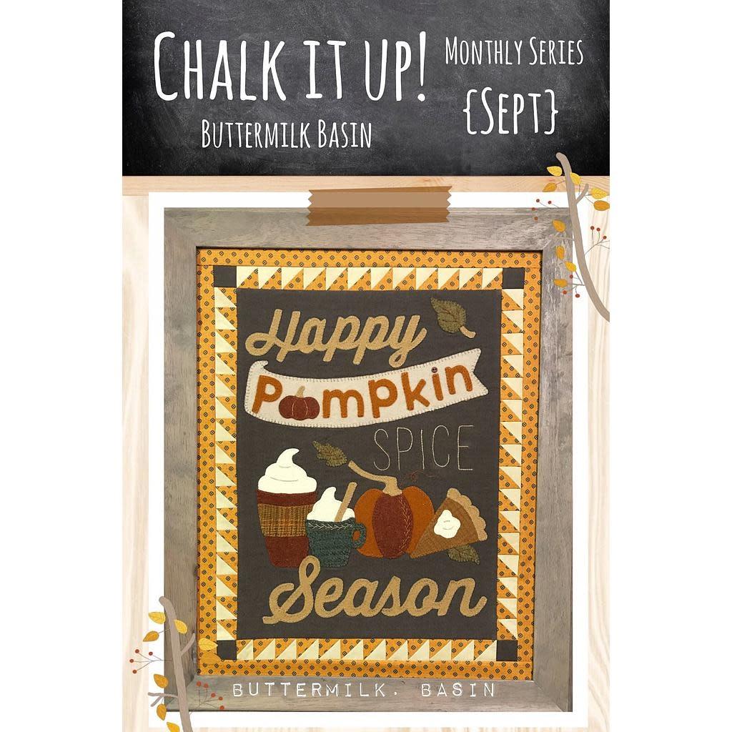 Buttermilk Bassin Chalk it up! - Patroon by Buttermil Basin