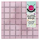 Tula Pink Hardware 6,5 inch Square Template with Unicorn - TULA PINK