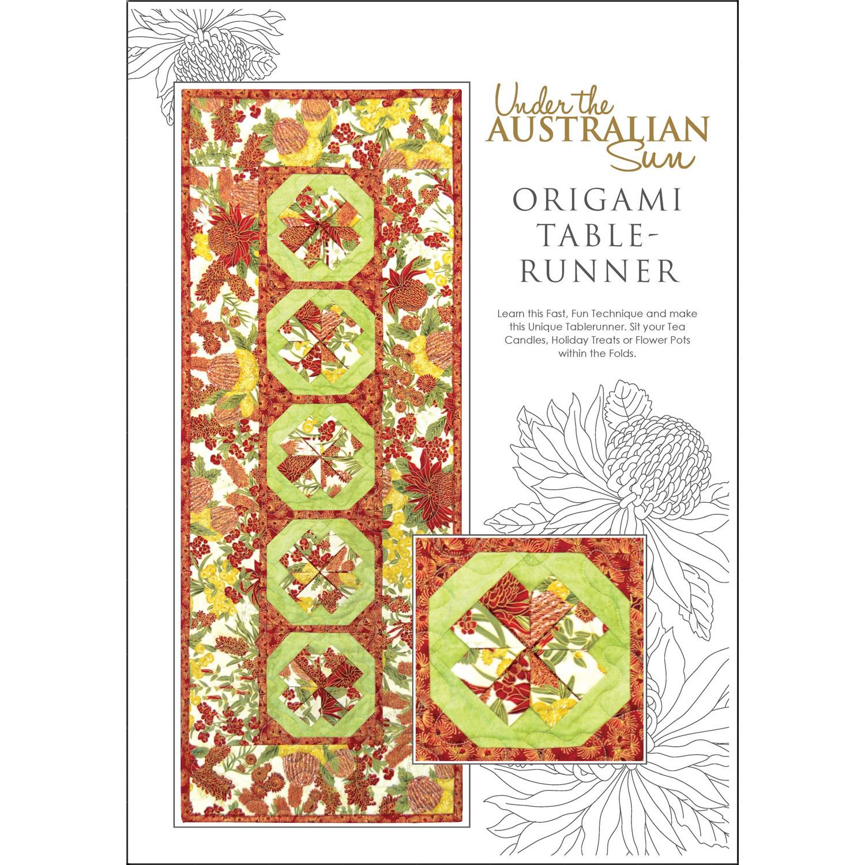 Leesa Chandler Aussie origami table runner - Leesa Chandler Pattern