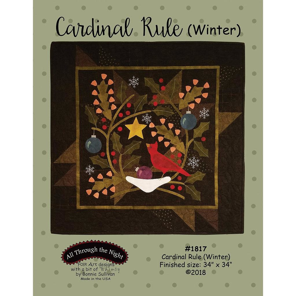 Cardinal Rule (Winter) - Complete kit