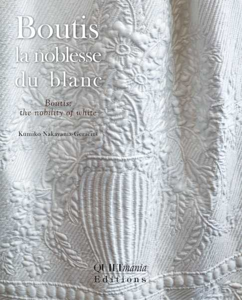 Quiltmania Boutis - La Noblesse Du Blanc - Kumiko Nakayama-Geraerts
