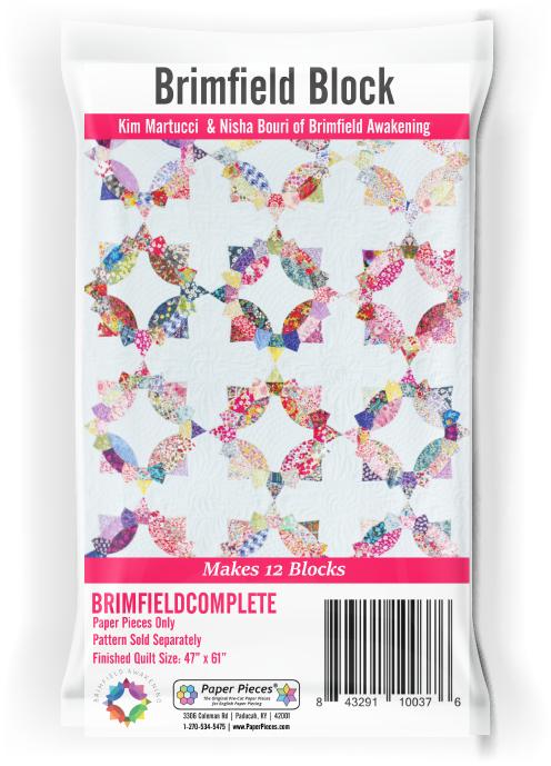 Paper Pieces Brimfield Block - Paperpieces for 12 blocks