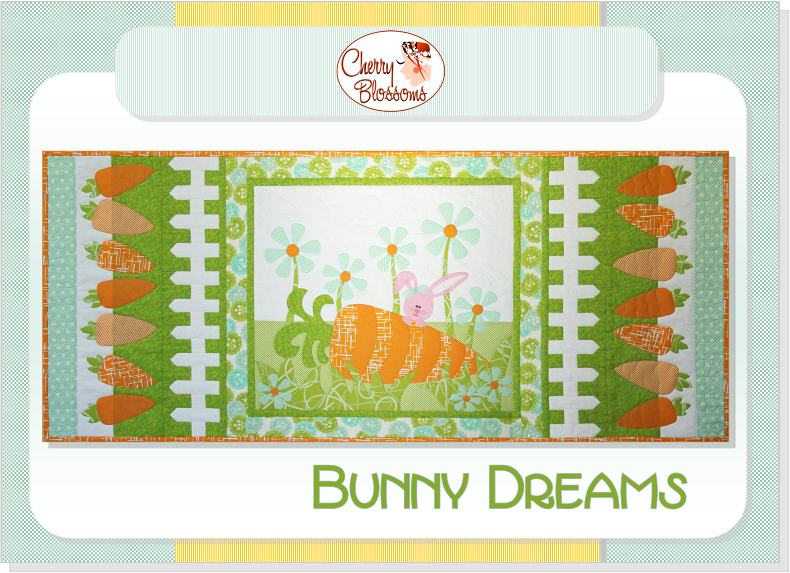 Bunny Dreams Runner - Patroon