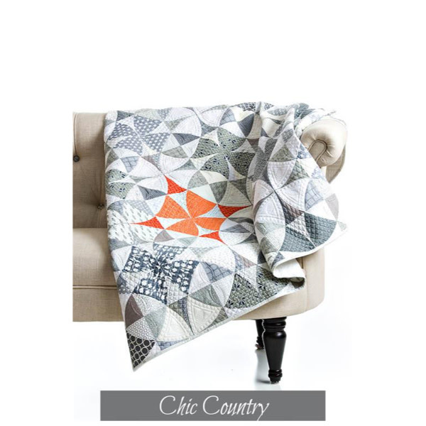 Sew Kind Of Wonderful Chic Country (54x54 inch) - QCR Patroon
