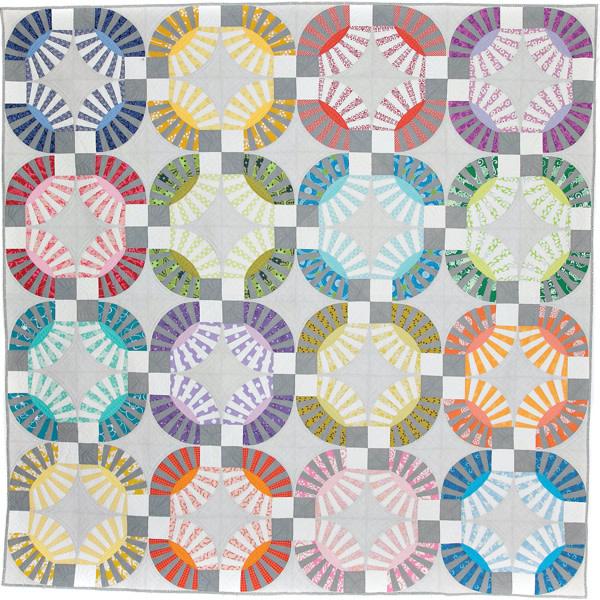 Sew Kind Of Wonderful Chic Kisses (92x92 inch) - QCR Patroon