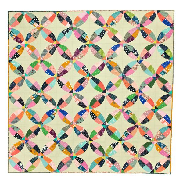 Sew Kind Of Wonderful Chic Picnic (75x75 inch) - QCR Patroon
