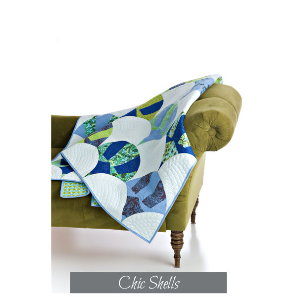 Sew Kind Of Wonderful Chic Shells (65x78 inch) - QCR Patroon