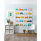 Sew Kind Of Wonderful Cool Cars (62x67 inch) - WCR Patroon