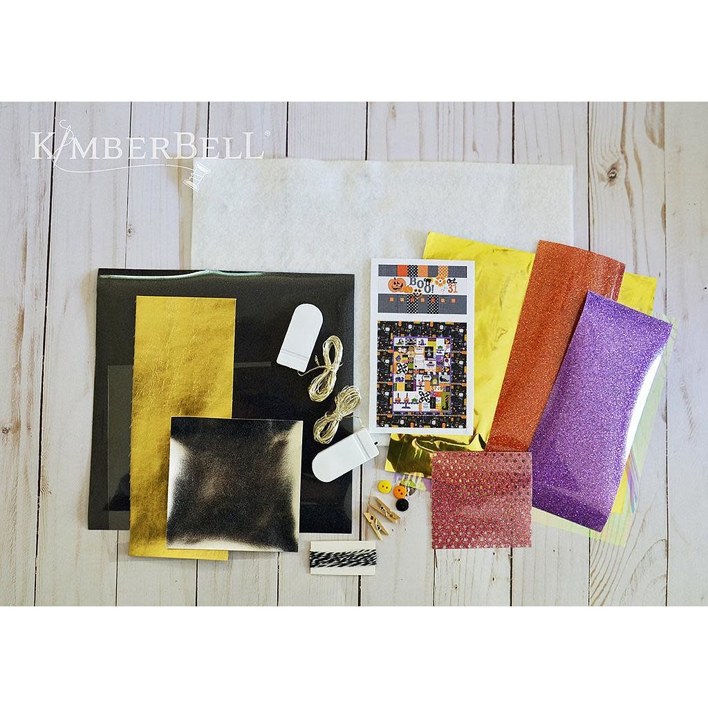 KimberBell Boo-levard Embellishment Kit