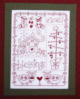 Fig 'n' Berry Creations Blessings - Patroon