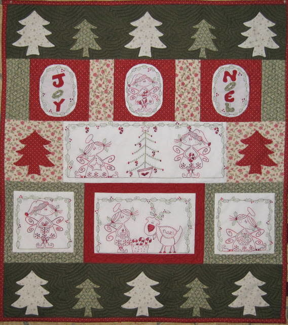 Fig 'n' Berry Creations Candycane Angels - Patroon