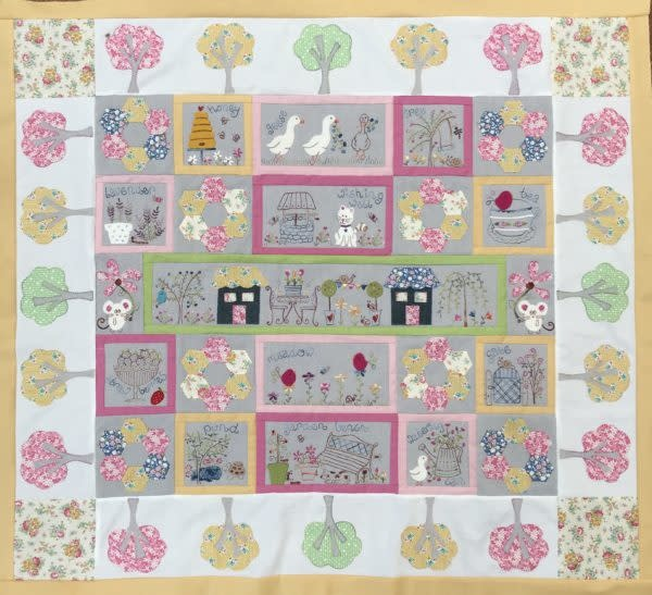 Fig 'n' Berry Creations Apple Butter Lane - Pattern