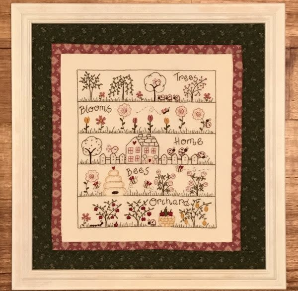 Fig 'n' Berry Creations Bee Haven - Pattern