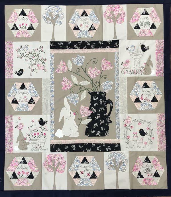 Fig 'n' Berry Creations Bunny Brigade - Patroon
