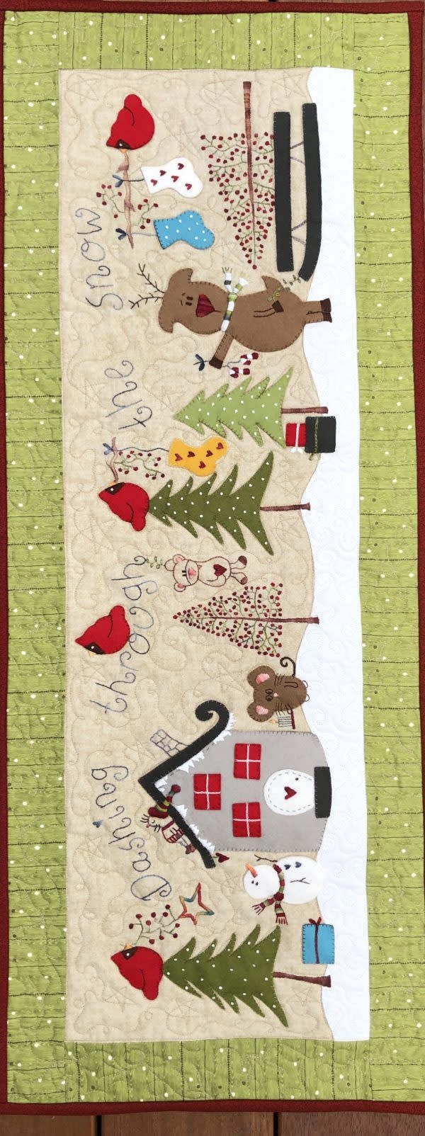 Fig 'n' Berry Creations Dashing Through the Snow - Patroon