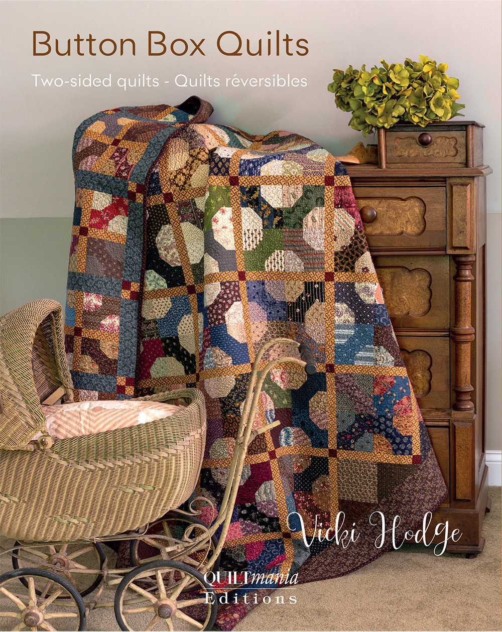 Quiltmania Button Box Quilts - Vicki Hodge