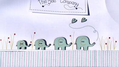 The Bee Company Elephant Buttons - TB10E