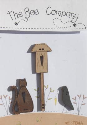 "The Bee Company Knoppen ""Autumn birdhouse"" - TB4A"