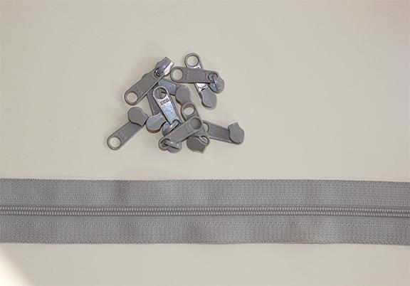 RinskeStevens Baggy Zipper Large - Zand