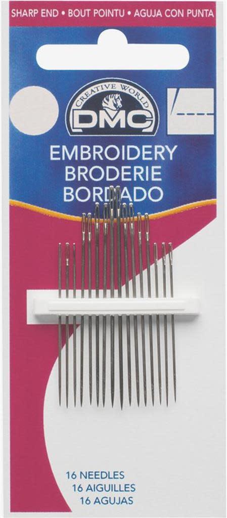 DMC EMBROIDERY NEEDLE N°5-10 - 17653