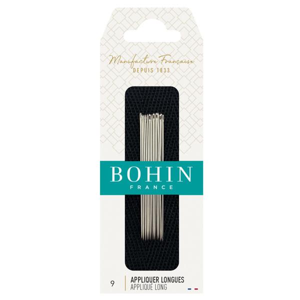 Bohin APPLIQUÉ LONG NEEDLES Nr 9 - BOHIN