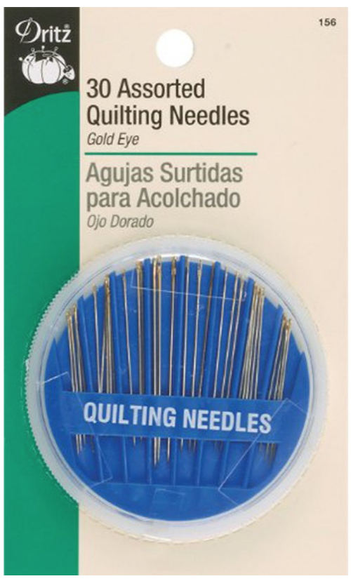 Diversen Assorted Quilting Needles - 30 Pieces
