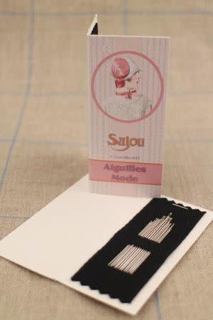 Sajou 15 ASSORTED FASHION NEEDLES NUMBER 3 TO 9 - SAJOU