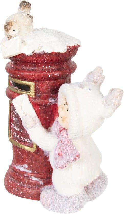 clayre&eef Decoratie kind bij brievenbus 29*17*39cm - 6CE0991