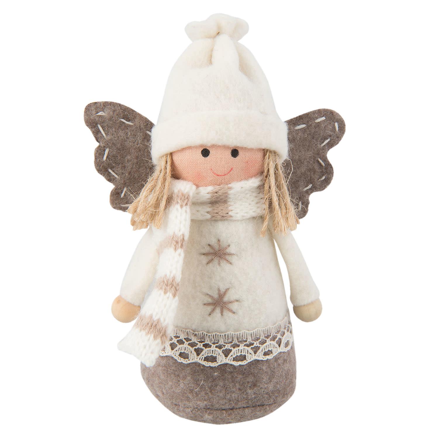 clayre&eef Decoratie engel 9*4*13 cm – TW0277