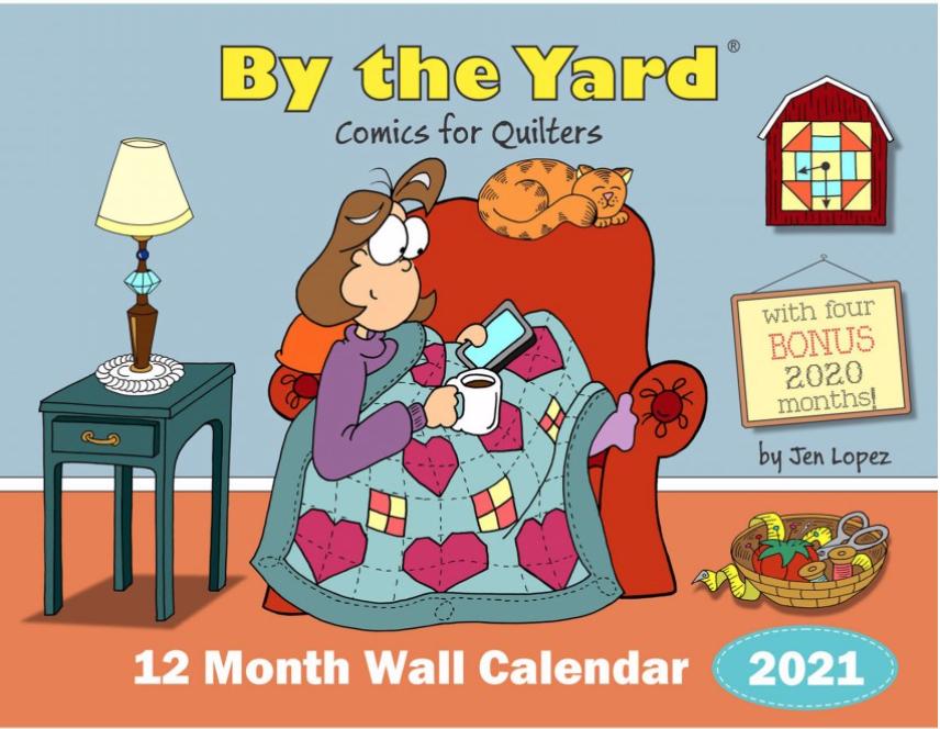 "Diversen 2021 By the Yard Calendar (11""x17"")"