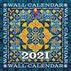 """Diversen 2021 Wall Calendar (12X12"""")"""