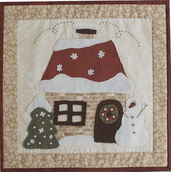 RinskeStevens Cosy Cottage Block of the Month - January