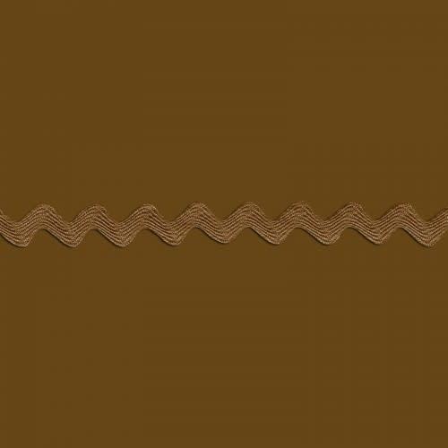 Diversen Chestnut Ric Rac - Per Meter