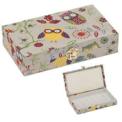 Diversen Bobbin Storage Box - Owl - Small
