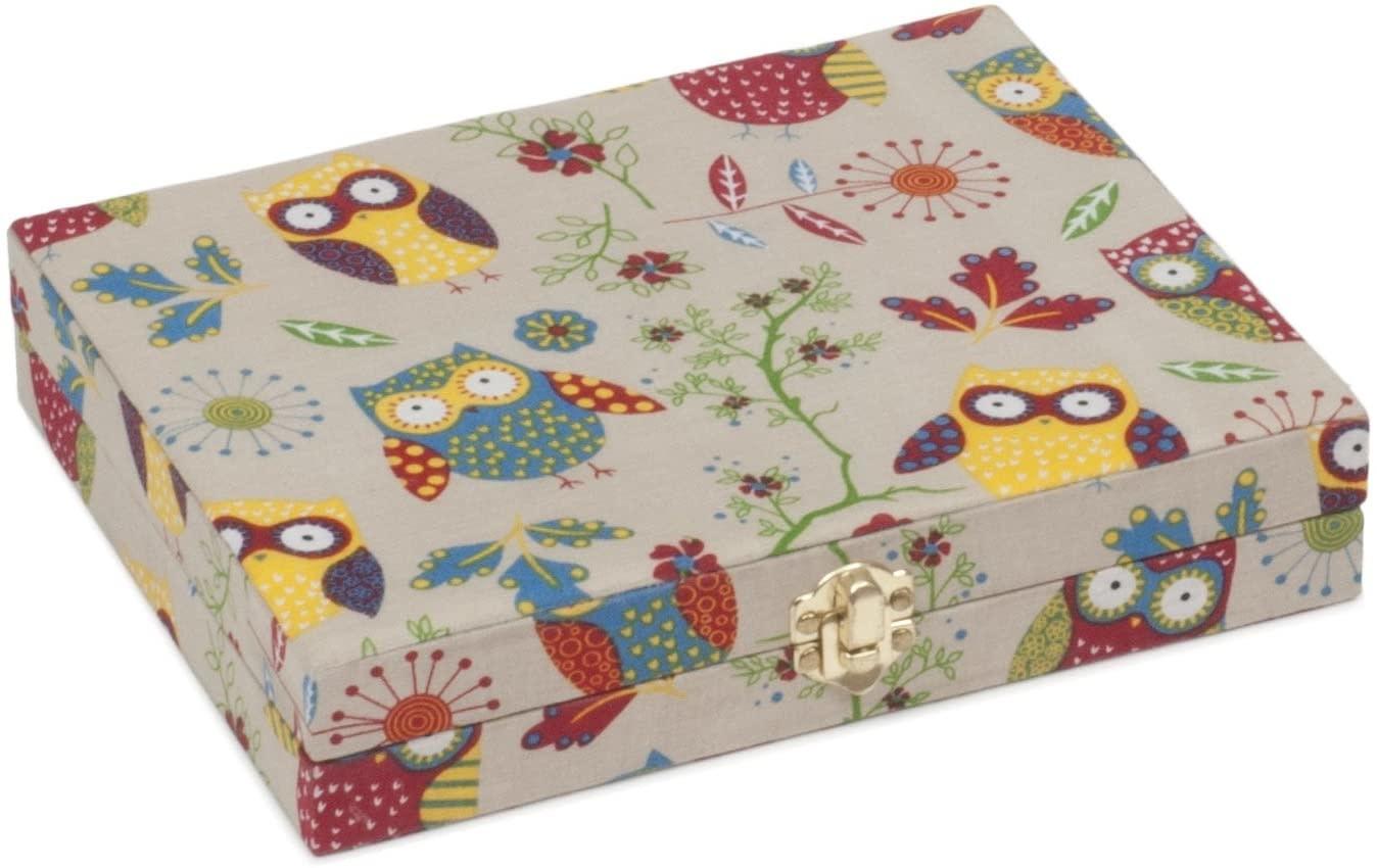 Diversen Bobbin Storage Box - Owl - Large