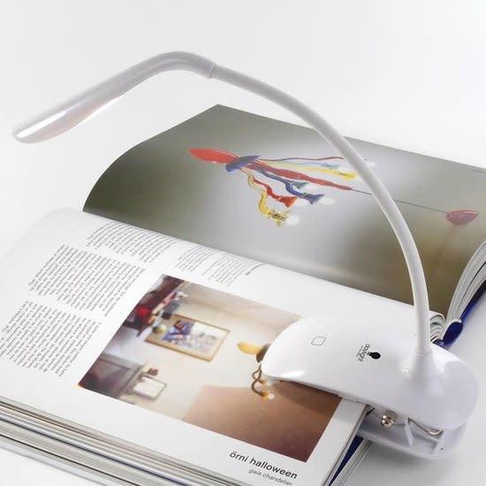 Daylight Daylight Smart Clip-on lamp - Leeslamp met LED - Bedlamp met klem - Flexibele arm - Wit