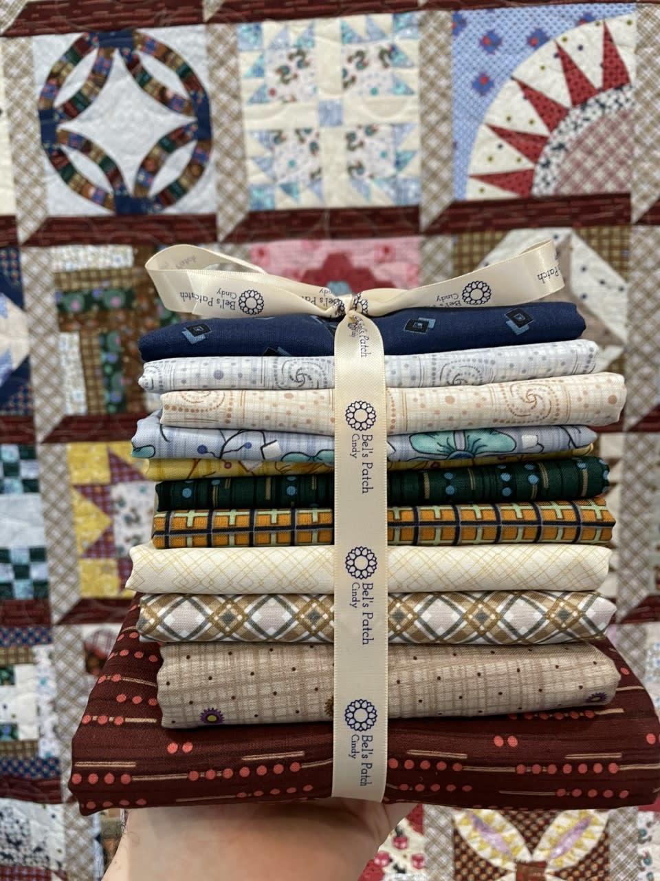 Benartex Lizzy Albright  Quilt Kit - Orginele Stoffen & Patroon Boek