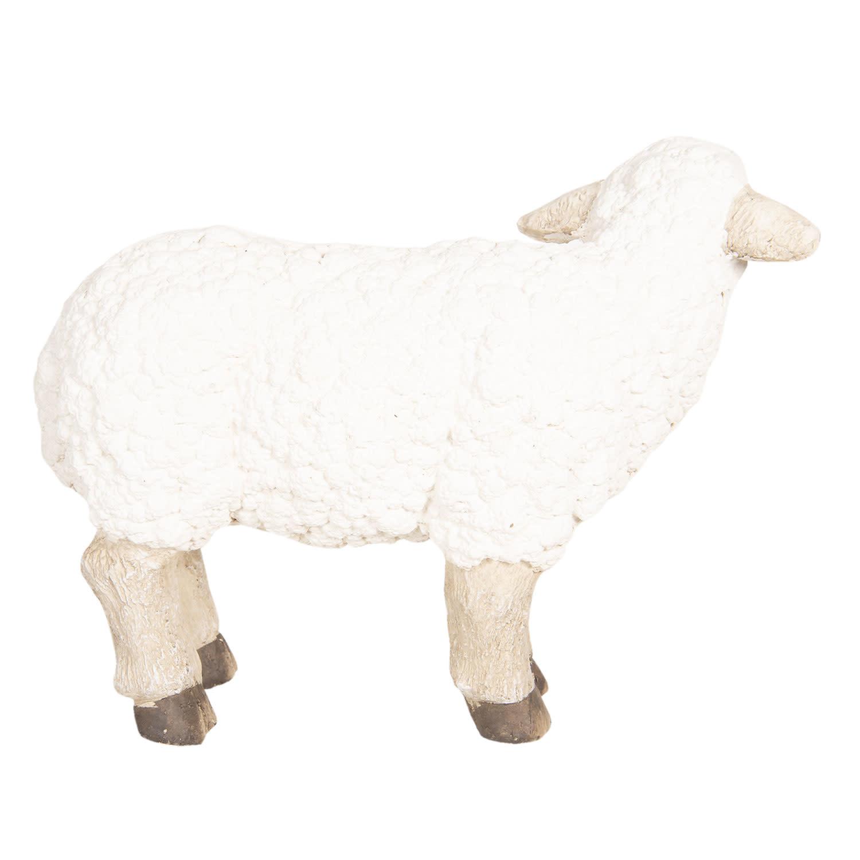 clayre&eef Decoratie schaap 55*20*45 cm