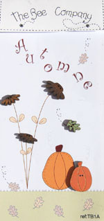 """The Bee Company Boutons """"automne"""" - TB1A"""