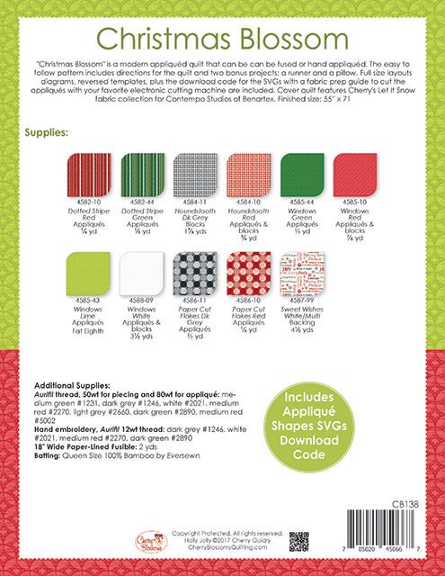 Benartex Christmas Blossom - Benartex Pattern