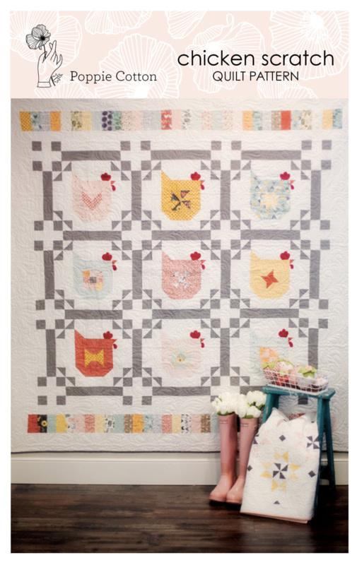 Poppie Cotton Chicken Scratch - Quilt Pattern