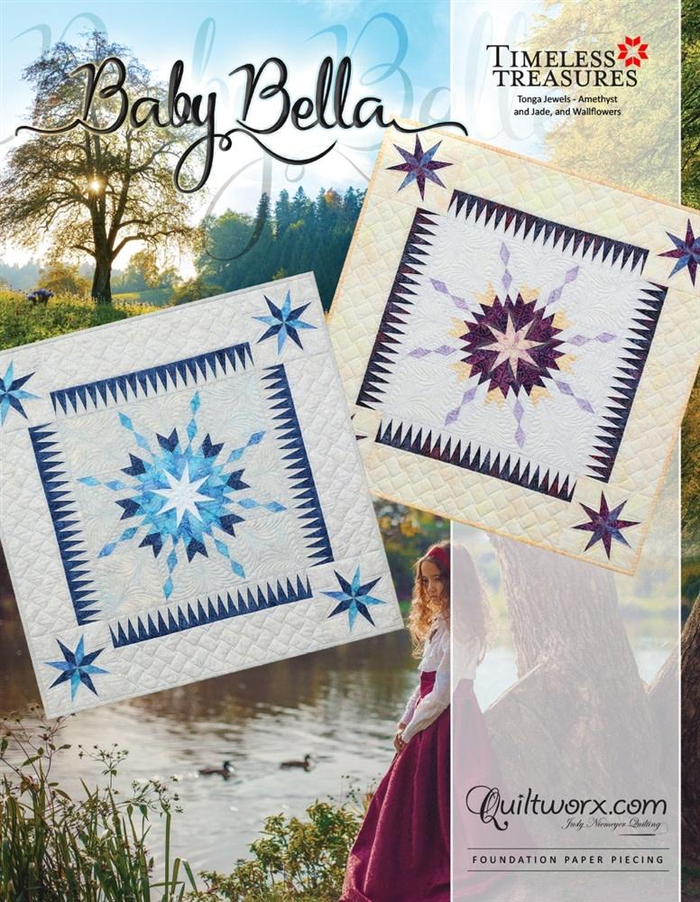 Timeless Treasures Baby Bella - Volledig Pakket (Blauwe Quilt)