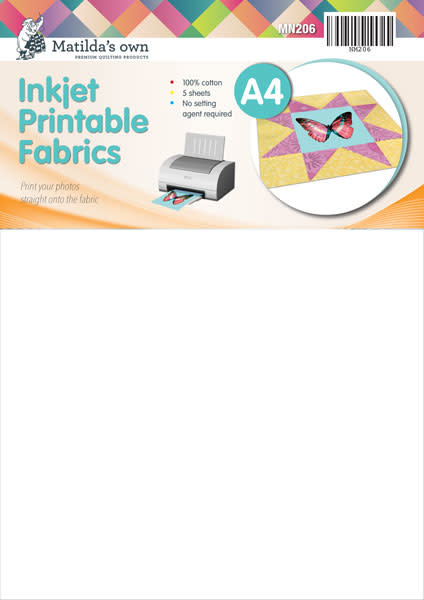 Matilda's Own A4 Inkjet Printable Fabric - Matilda's Own