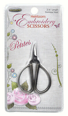 """Diversen 2-1/4"""" Petites Heirloom Embroidery Scissors"""