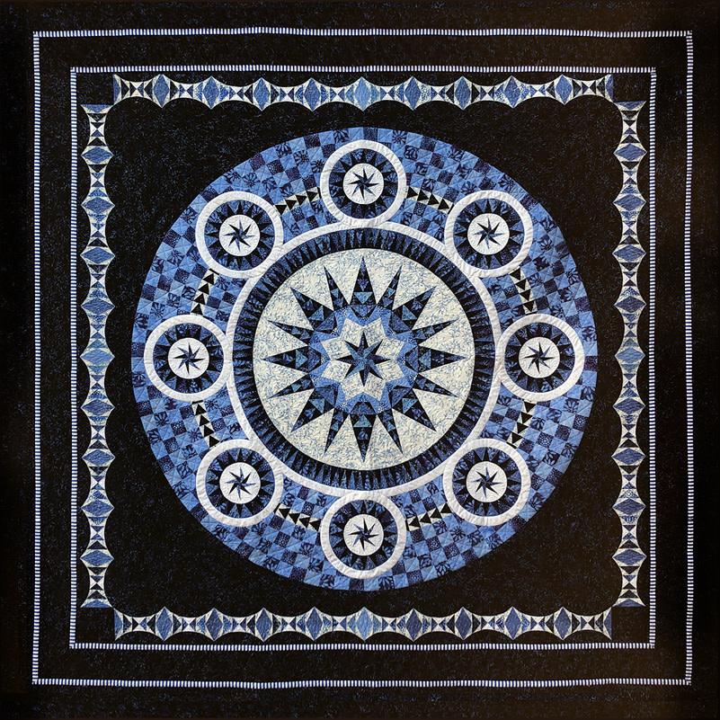 Anthology BE COLOURFUL, Bluetiful Quilt Kit