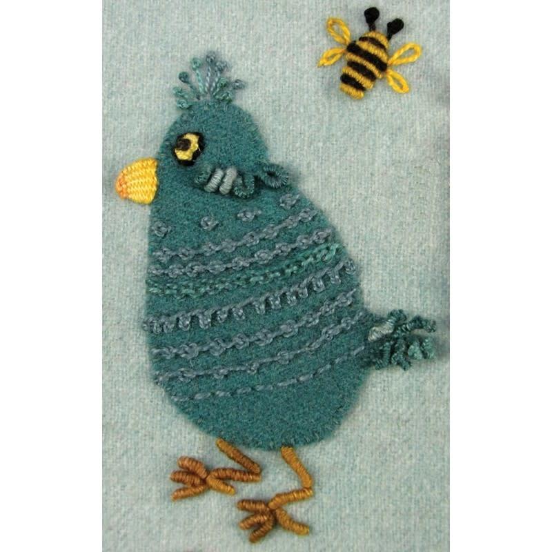 suespargo Chick Play Sampler pattern en malletjes