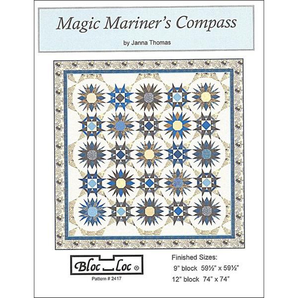 Bloc_Loc Bloc Loc Pattern, Magic Mariner's Compass